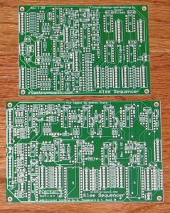 Circuit Boards for Klee Sequencer