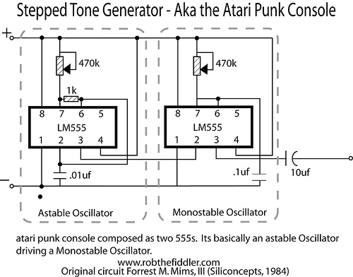 Electromusic View Topic Breadboard Version Of Atari Punk Rhelectromusic: Atari Wiring Diagram At Gmaili.net