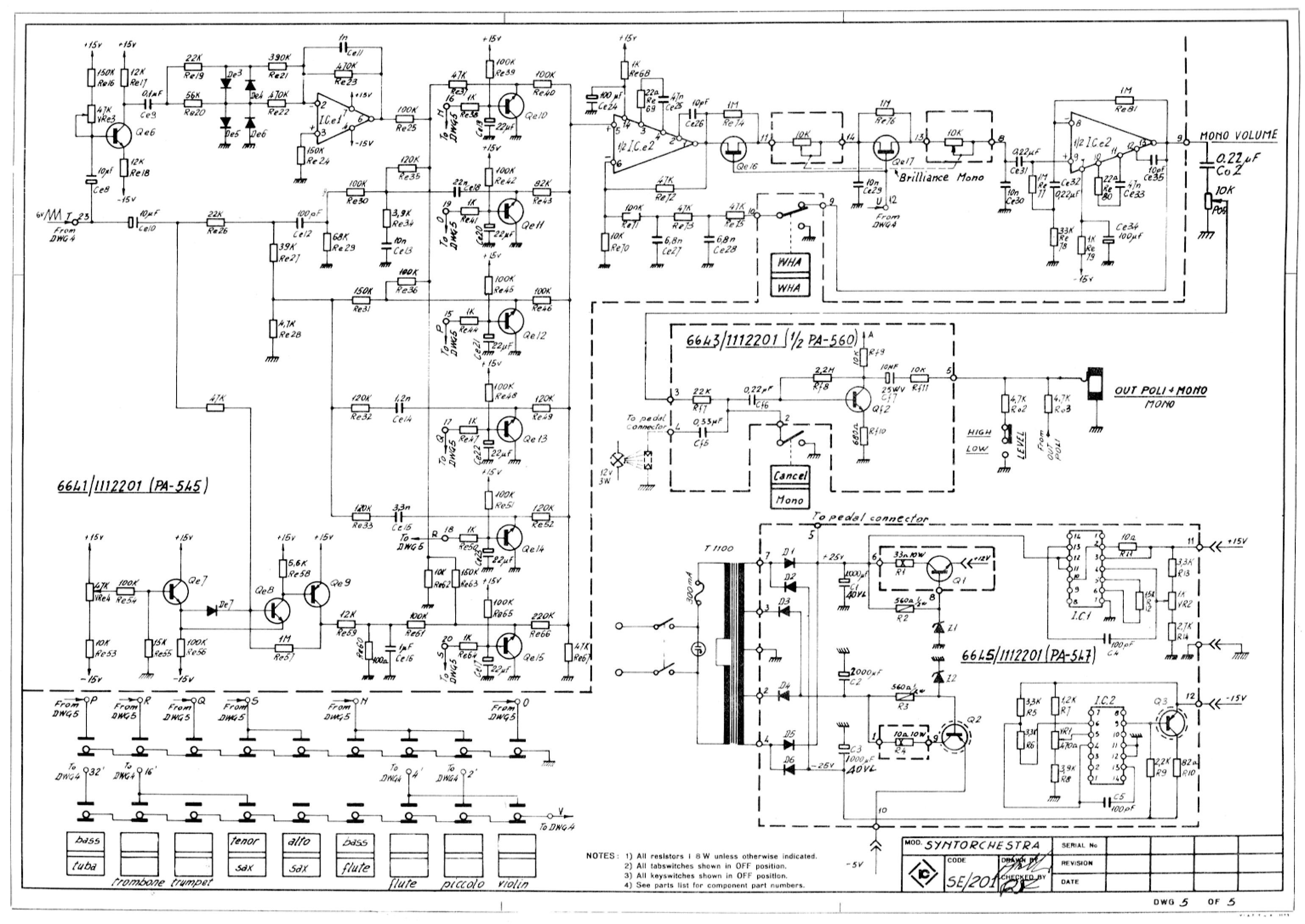 View Topic Schematics Vault Voltage Controlled Low Pass Filter With Lm13600 Ota Circuit Schematic Farfisa Syntorchestra 8