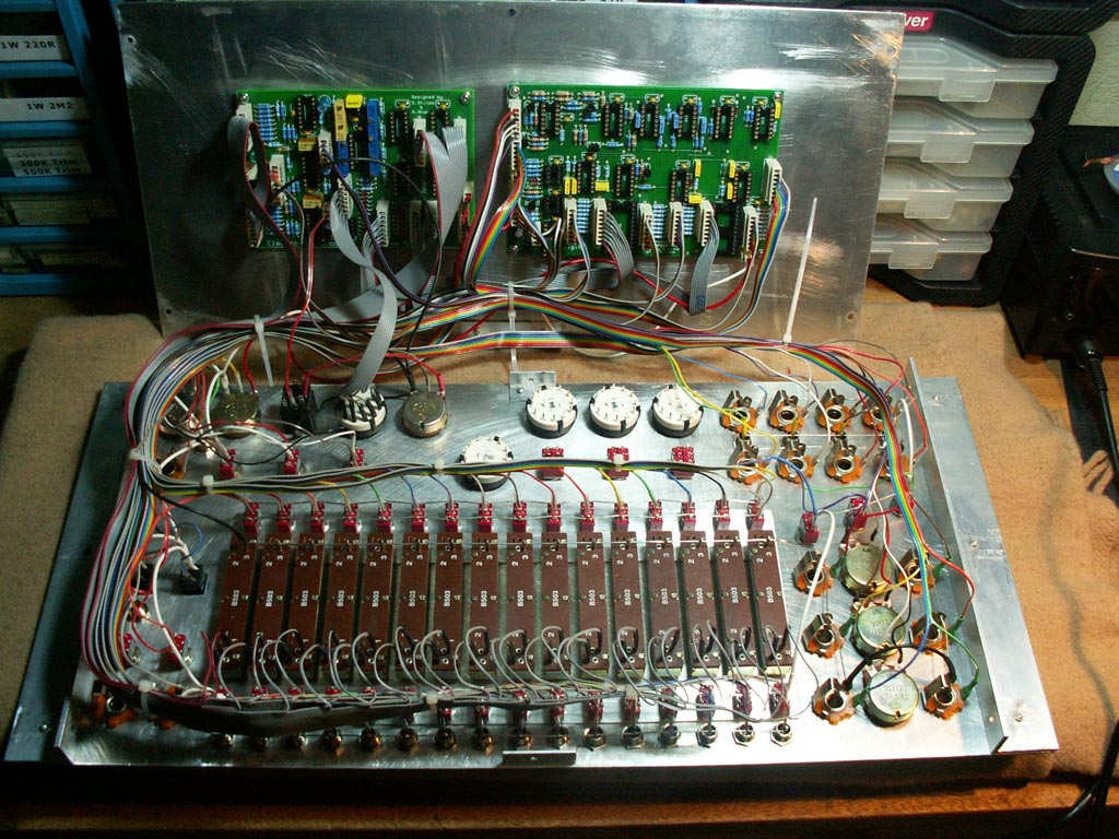 Klee sequencer built by Uncle Krunkus