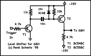 Acoustyx as well Sonar Diagram Circuit together with Car Audio Stereo Decoder Circuit likewise Pulse Generator With 555 furthermore Guitar Buffer Circuit Schematic. on synthesizer schematics