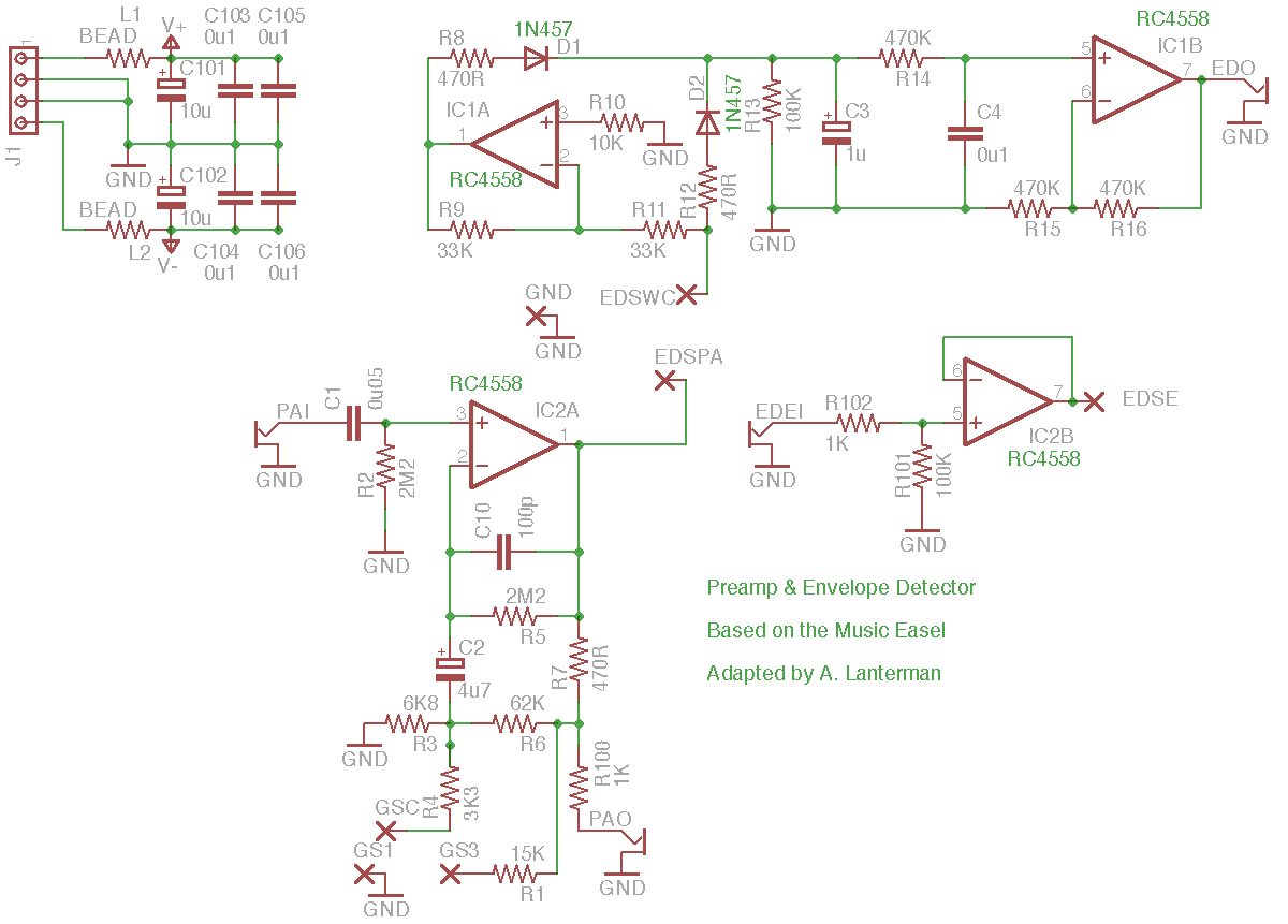 Envelope Filter Schematic Automotive Wiring Diagram The Technology Of Autowahs Envelopecontrolled Filters Electro Music Com Wiki Schematics Buchla Easel Rh Bass