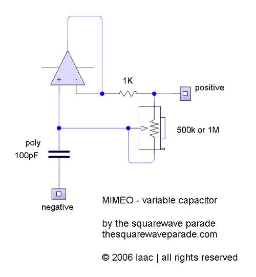 Переменный конденсатор большой емкости.  Подключаем сабж в параллель гитарному звукоснимателю - и вот вам...