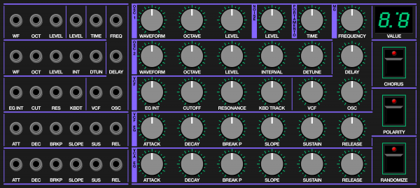 electro-music com :: View topic - KORG DW6000 hardware controller