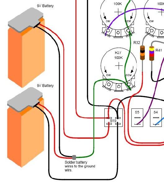 Tonepad Offboard Wiring on