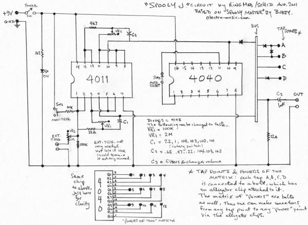 lazy j schematic  zen diagram, schematic