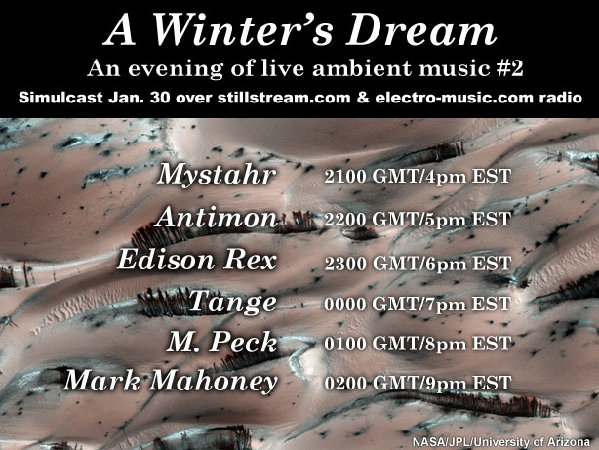 electro-music com :: View topic - A WINTER'S DREAM : AN