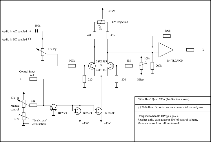 electro-music com wiki | Schematics / VCA 3