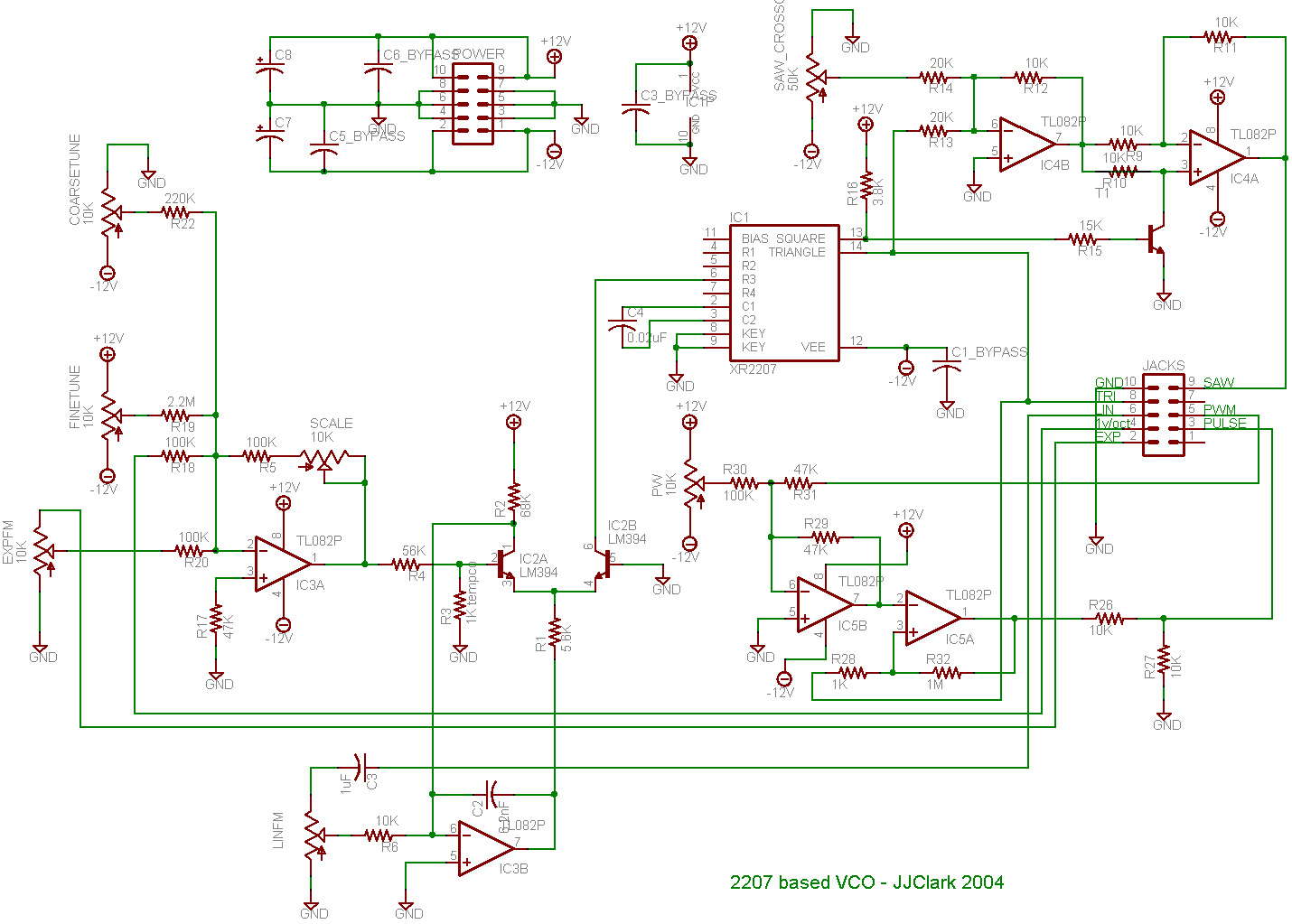 Vco Schematic Pwm - Trusted Wiring Diagram •